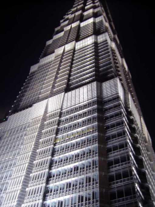 86 Jin Mao Tower At Night