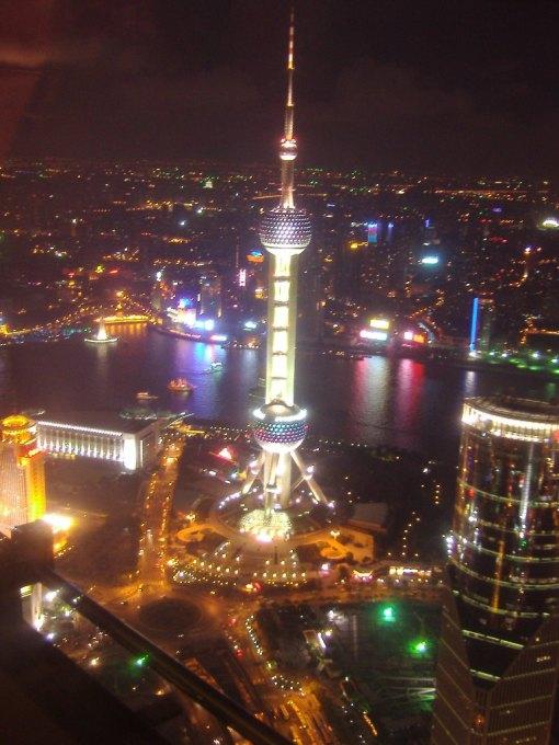 91 Beautiful Shanghai Night Skyline