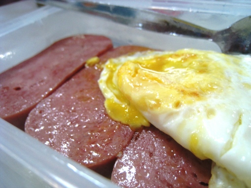 Breakfast - Spam & Egg