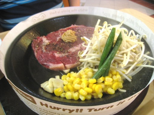 Pepper Lunch - Brother's Tokusen Rib Eye 00