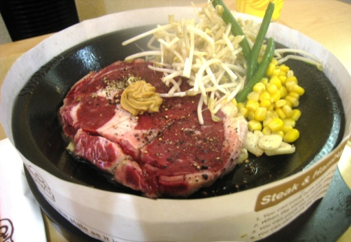 Pepper Lunch - Francis's Tokusen Rib Eye
