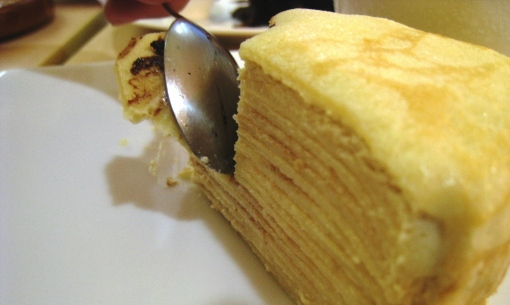 Pepper Lunch - Vanilla Crepe Cake 01