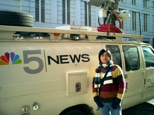 Sears Tower - By the NBC News Truck