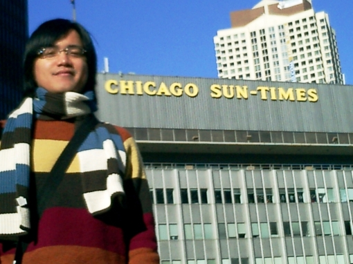 Sears Tower - In front of the Chicago Sun-Times