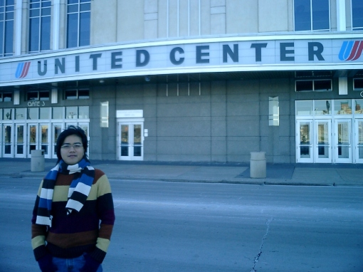 Sears Tower - In front of the United Center