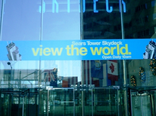 Sears Tower - View the world from the Sears Tower Skydeck