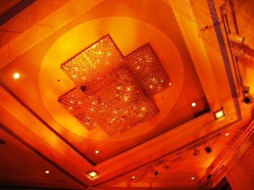 Ian Marie Wedding - Ballroom Grand Chandelier 00