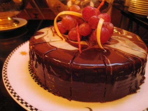Ian Marie Wedding - Buffet 02 Chocolate Cake