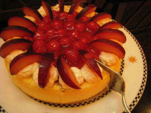 Ian Marie Wedding - Buffet 03 Cherry Cheesecake