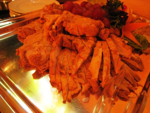 Ian Marie Wedding - Buffet 05 Honey Roasted Chicken