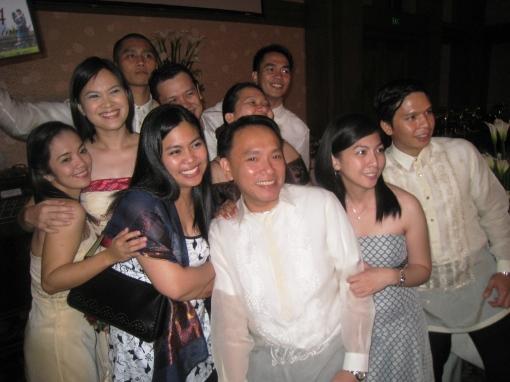 Ian Marie Wedding - Friends Group 01