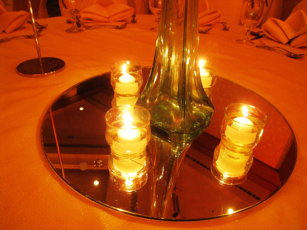 Ian Marie Wedding Table Top Votive Candles