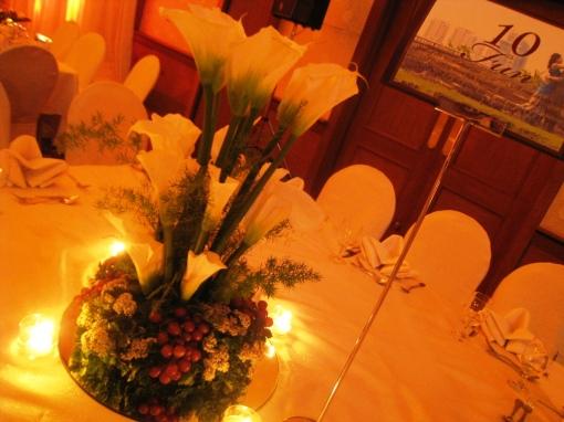 Ian Marie Wedding - Table Topper Fun