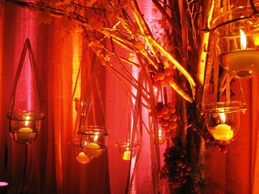 Ian Marie Wedding - Tree and Flower Arrangement 00