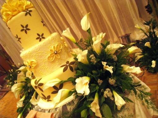 Ian Marie Wedding - Wedding Cake 00