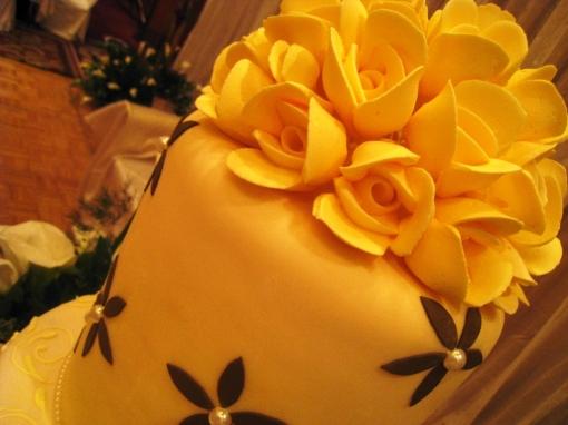 Ian Marie Wedding - Wedding Cake 01