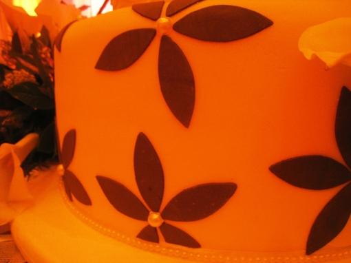 Ian Marie Wedding - Wedding Cake 04 Bottom Tier
