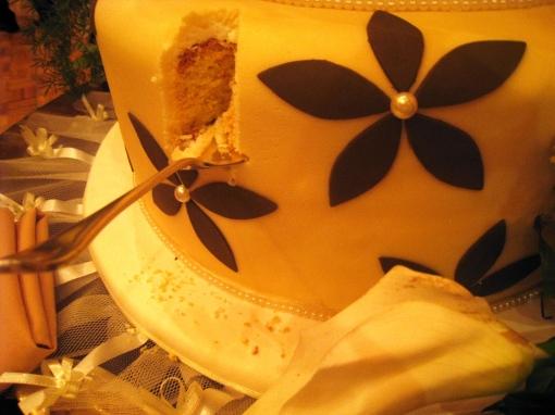 Ian Marie Wedding - Wedding Cake Cut 02