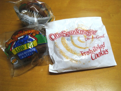 Otis Spunkmeyer - Blueberry Muffins 00