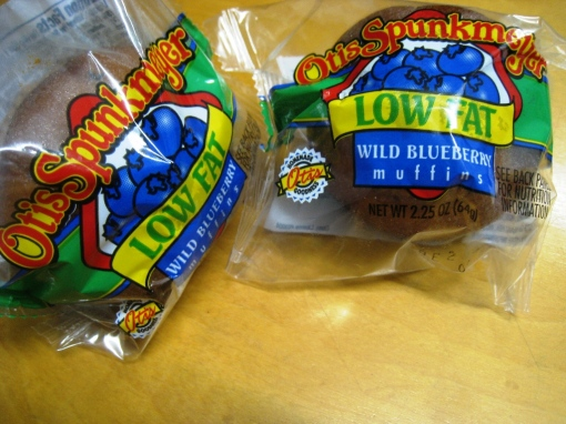 Otis Spunkmeyer - Blueberry Muffins 02