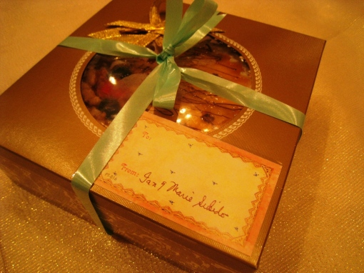 Ian Marie Wedding - Gift from Couple 00