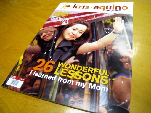 Kris Aquino Magazine
