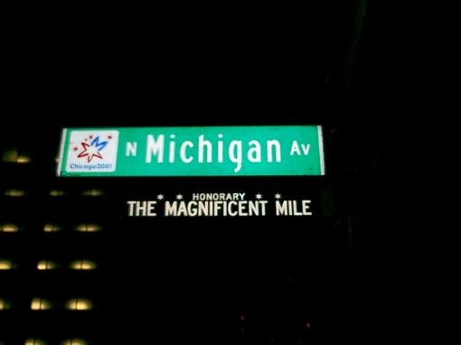 The Magnificent Mile - Michigan Avenue  ...  The Magnificent Mile