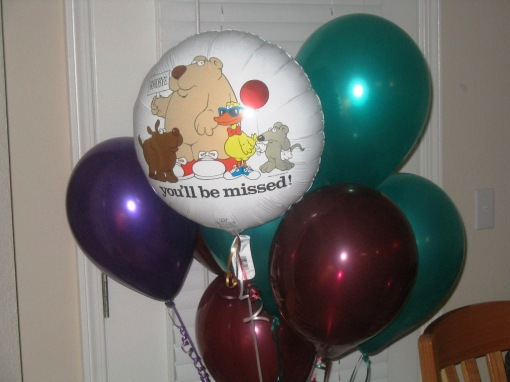 Balloons - You'll Be Missed