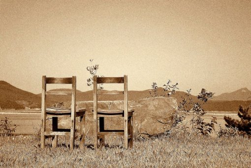 Two Chairs by Harry Stamper