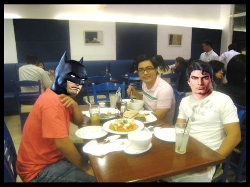 eNTeNG with superheroes