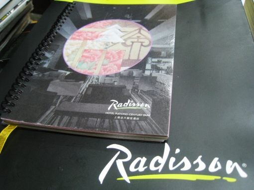 Radisson Hotel Notebook 04