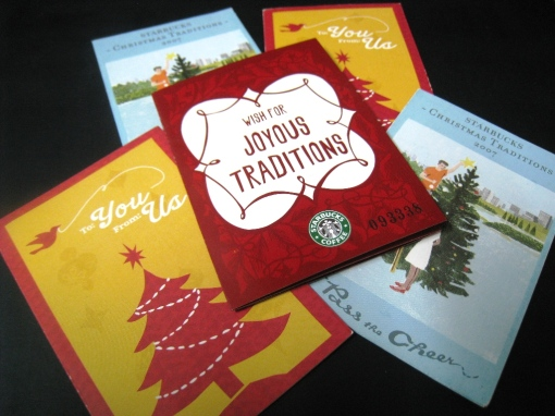 Starbucks 2010 Planner Card 05