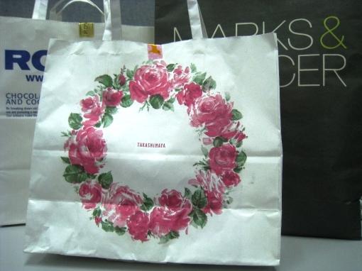 Takashimaya Bag