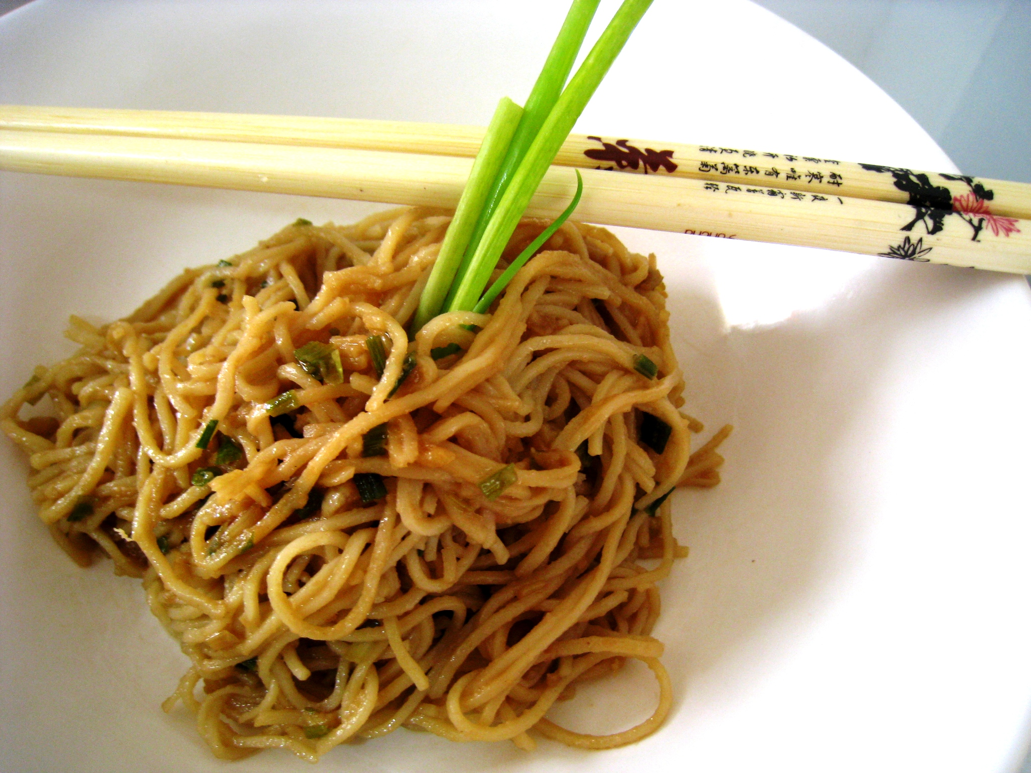 Cold Peanut Sesame Noodles Recipe — Dishmaps