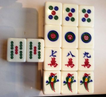 Italian Lunch - Mahjong 02 Win