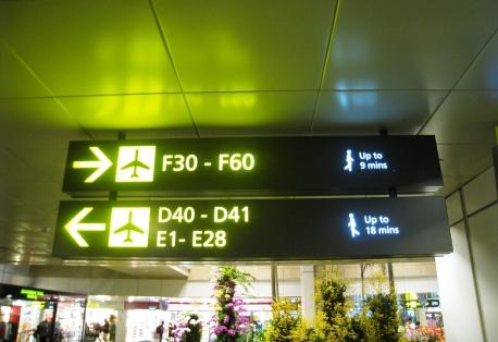 Changi Airport - Boarding Gate