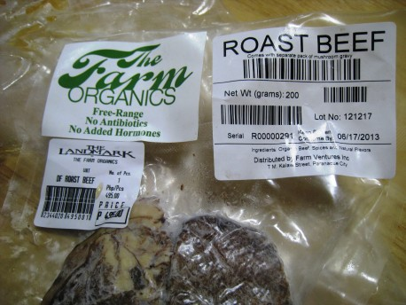 The Farm Organics - Roast Beef 00