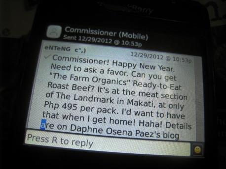 The Farm Organics - Roast Beef 10 SMS