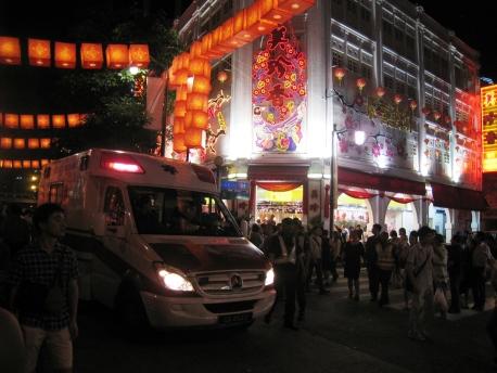 CNY 2013 - Chinatown_30_Ambulance