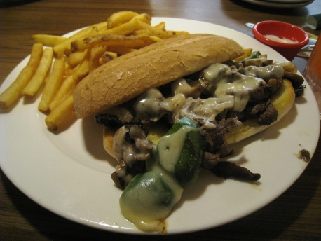 CNY 2013 - Food_04_Cheesesteak