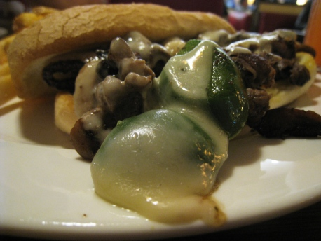 CNY 2013 - Food_05_Cheesesteak