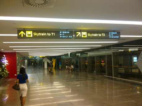 Departure - 02 Skytrain to T3