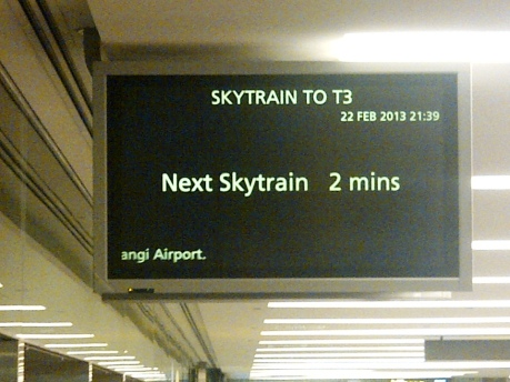 Departure - 03 Skytrain to T3