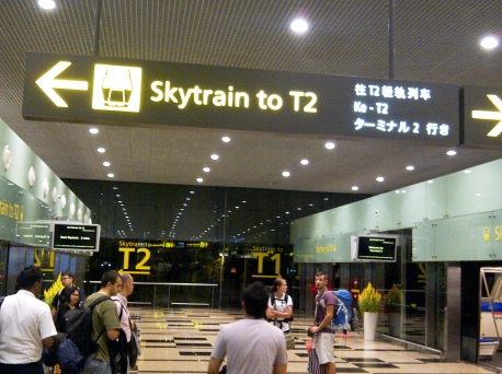 Departure - 07 Skytrain to T2