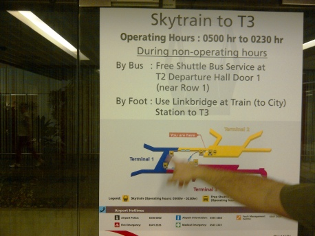 Departure - 08 Skytrain to T3