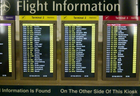 Departure - 11 Flight Information
