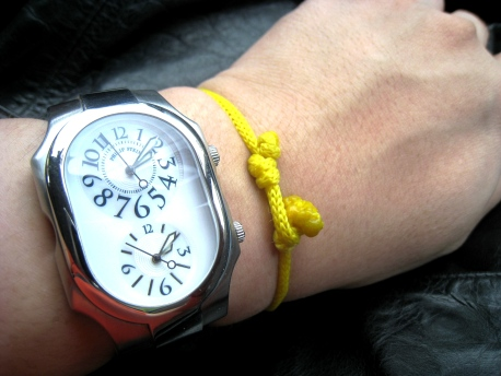 Wristwatch - Philip Stein + Yellow Bracelet 02