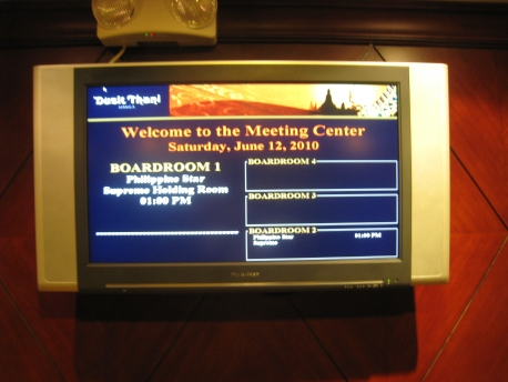 Philippine Star Supreme - Meeting Center Board 00