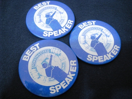 Speech - Toastmasters International Best Speaker 00
