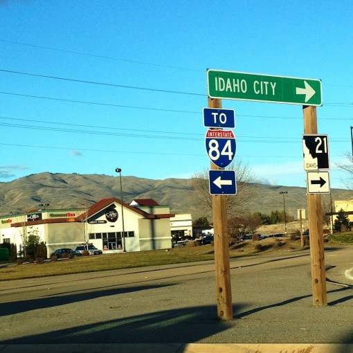 In Boise, all you have to do is hit the open road...  Always just about 15 minutes from everything!